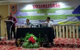 Sosialisasi Keputusan Gubernur Tentang Penetapan Pola Hubungan Komunikasi Sandi Antar Perangkat Daerah