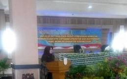 Sosialisasi Pusat Pendidikan Wawasan Kebangsaan di Aula Linggangan