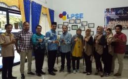 LKPP Melakukan Penilaian 17 Standarisasi Kepada LPSE Kota Banjarbaru