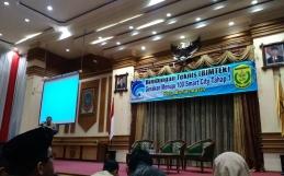 Pembukaan Bimtek Smart City Tahap 1 Pemko Banjarmasin