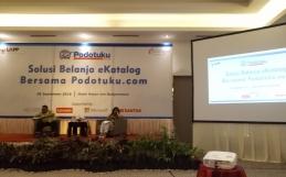 Sosialisasi E Katalog LKPP Bersama Podotuku.com di Hotel Rattan In Banjarmasin