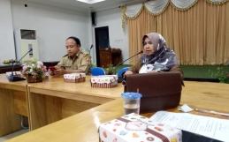 Audiensi dan Evaluasi Kota Layak Anak Di Aula Bappeda Kota Banjarbaru
