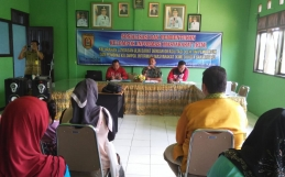 Pembentukan KIM di Kelurahan Landasan Ulin BaratKota Banjarbaru