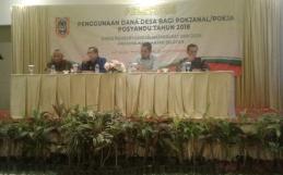 Acara Sosialisasi Penggunaan Dana Desa Bagi Pokjanal/Pokja Posyandu Tahun 2018