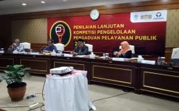 Diskominfo Kota Banjarbaru Mengikuti Penilaian Lanjutan Kompetisi Pengelolaan Pengaduan Pelayanan Publik