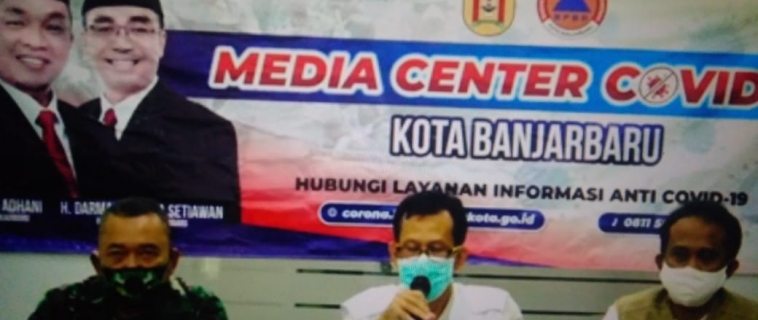 Press Conference Perkembangan Covid 19 Di Kota Banjarbaru, 15 Mei 2020