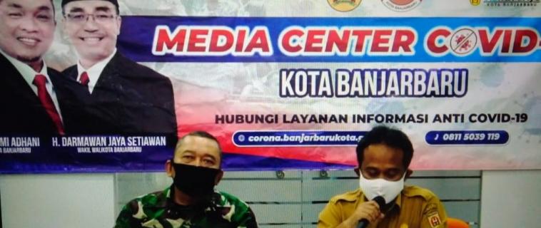Press Conference Covid 19 Kota Banjarbaru Selasa, 19 Mei 2020