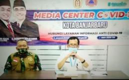 Pres Conference Covid 19 Kota Bnajarbaru Rabu, 01 Juli 2020