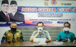 Pres Conference Covid 19 Kota Banjarbaru Kamis,02 Juli 2020